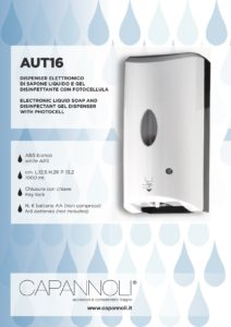 scheda dispenser AUT16 a